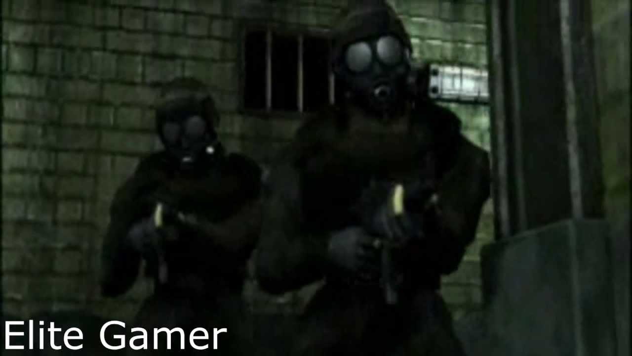 Resident Evil 2 Hunk Cutscene Hd Youtube