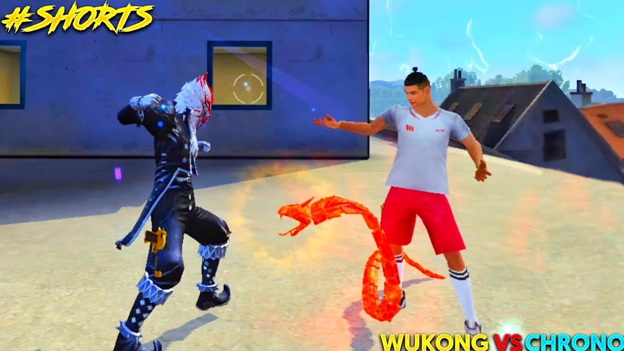 Chrono Vs Wukong : Wukong is Back in Garena Free Fire #shorts