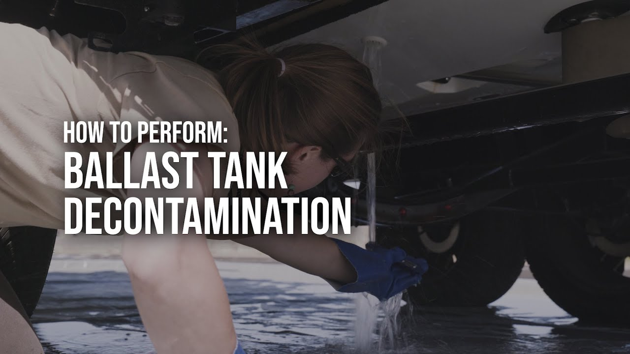 How to Perform Ballast Bags Decontamination