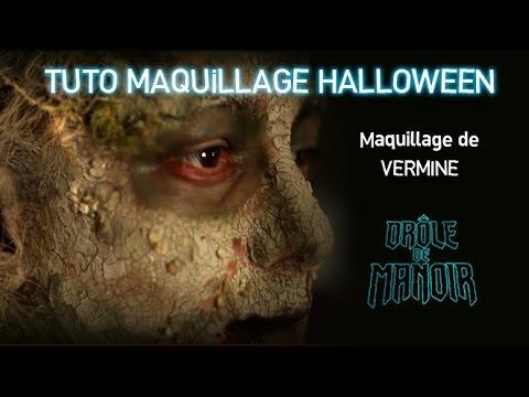Tuto maquillage de vermine maquillage halloween drole - Image halloween drole ...