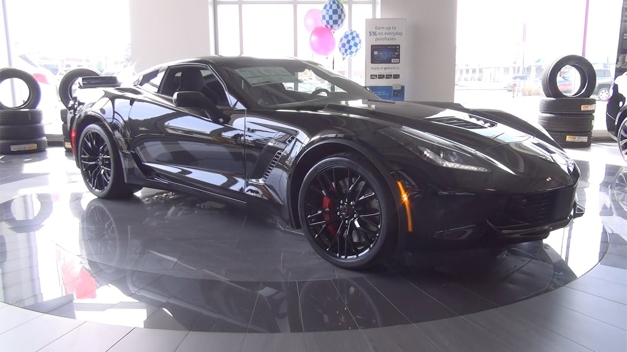 2017 Chevrolet Corvette Coupe Z06 3lz 650 Hp Bennett Gm New Car Dealer