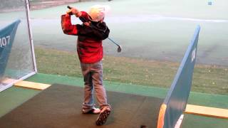 7 Year Old Imitates Golf Swings Of Barkley, Tiger, Bubba Watson, Duffner, Arnold Palmer, Etc