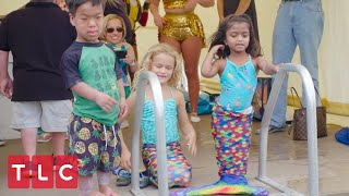 Zoey Swims With Mermaids! | The Little Couple