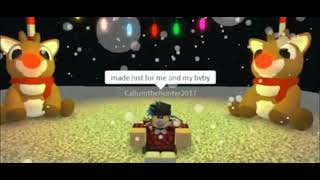 Winter things by Ariana Grande - Roblox FMV ft RadioRBLX