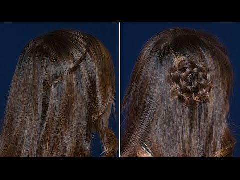 Quick & Easy Half Up Braided Hairstyles