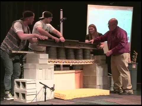 Popsicle Bridge Competition 2014