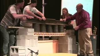 Popsicle Bridge Competition 2014