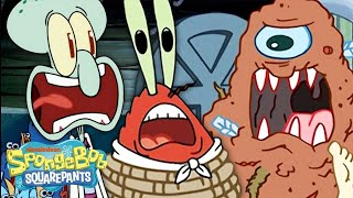 Krusty Krab Catastrophes! 💥 Every Time The Krusty Krab Was Destroyed | SpongeBob