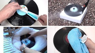 A few ways to not really clean a record