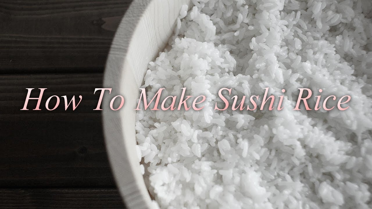 (without music)How To Make Sushi Rice.   酢飯の作り方 (4K)