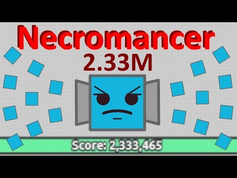 Diep.io | 2.33M Necromancer - Squares Are Overpowered!