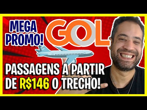MEGA PROMO GOL! TRECHOS A PARTIR DE R$146 NESSE FINAL DE SEMANA!