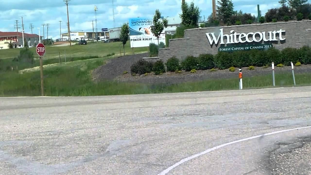 Where Is Whitecourt Alberta