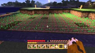 Minecraft deluxe island part 8 a farmers life