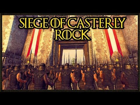 Epic Siege Of Casterly Rock - Game Of Thrones - Seven Kingdoms Total War Gameplay