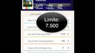 Tutorial Instafollow - como saber quem te bloqueou ou parou de seguir no instagram