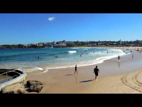 Bondi Beach in Sydney Australia   Visit Bondi Beach Tour   Bondi Beach Travel Videos Guide