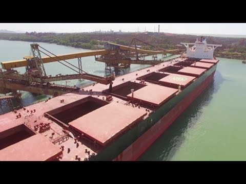 The world's largest ore transport vessel connects BRICS