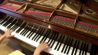 Repeat youtube video Howl's Moving Castle Theme (piano stories 4)