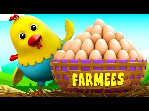Thumbnail: Cluck Cluck Hen | Nursery Rhymes For Children| Kids Songs | Baby Rhymes by Farmees S02E93