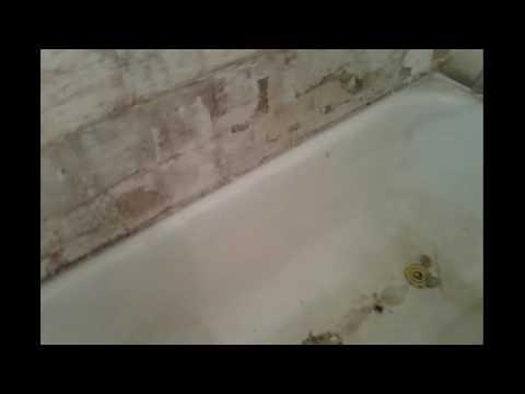 Ванная в Хрущевке до ремонта и после. Эконом класс.