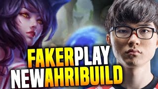 Faker Want to Play Ahri Midlane With His Unique Build! - SKT T1 Faker Playing Ahri Midlane   SKT T1 thumbnail
