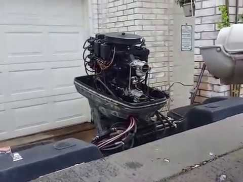 125 hp Force outboard