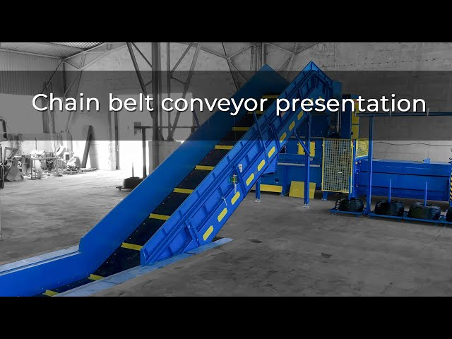 Chain belt conveyor presentation