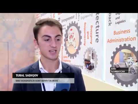 CBC TV _ BMU 11-ci Azərbaycan beynəlxalq təhsil sərgisində iştirak etdi