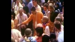 Srila Prabhupada Dances