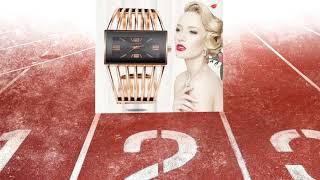 Luxury Fashion Rose Gold Bangle Bracelet Watch