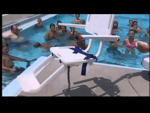 west lafayette pool receives handicap accessible chair lift youtube