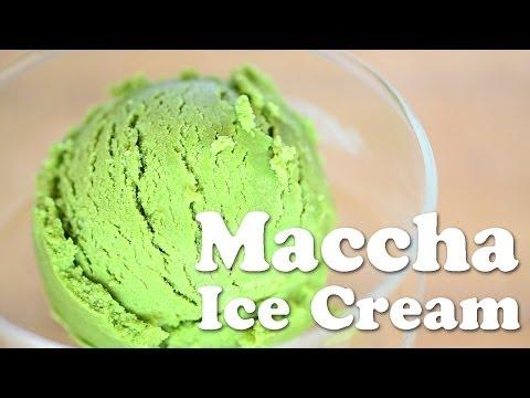 Maccha ice cream (vegan) ☆ 抹茶アイスクリームの作り方