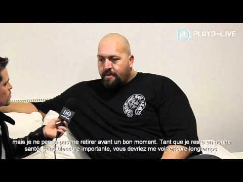 Interview du Big Show, superstar de la WWE