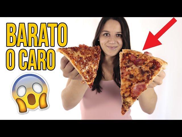 Pizza BARATA vs CARA