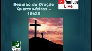 Reunião Oração online  15 de abril de 2021