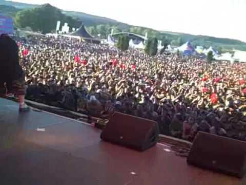 LA COKA NOSTRA LIVE @ FRAUENFELD FESTIVAL, SWITZERLAND - BLACK HELICOPTERS & FUCK TONY MONTANA