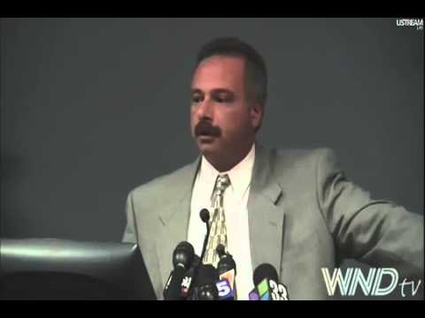 Full Press Conference Sheriff Joe Arpaio Barack Obama Birth Certificate July 17, 2012