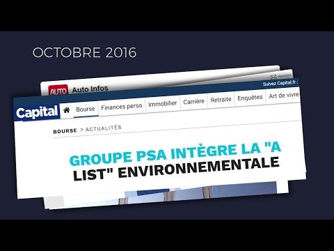 Groupe PSA - créateur de valeur durable I / creator of lasting value I
