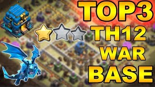 TOP 3 NEW TH12 WAR BASE 2018 (Layout) BEST TOWN HALL 12 WAR BASE |ANTI 2 STAR/ANTI 3 STAR
