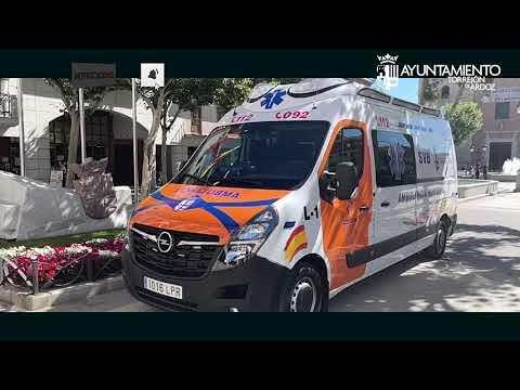 Torrejón de Ardoz cuenta con una nueva Ambulancia Municipal que prestará servicio todos los días 24h