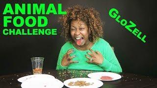 Animal Food Challenge - GloZell thumbnail