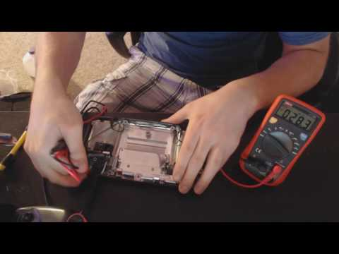 Sega Game Gear Replacing a Blown Transistor on the Power Board and Main Board Troubleshooting
