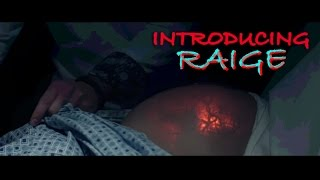 Introducing Raige | Best Baby Announcement Ever