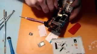 Как разобрать Sony Xperia Acro S LT26W . Ремонт Sony Xperia Acro S LT26W .