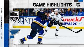 Kings @ Blues 10/25/21 | NHL Highlights