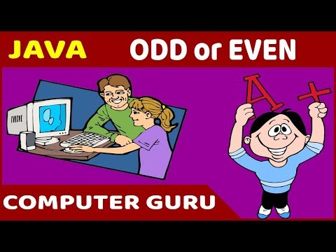Java Programming Tutorial - 09 ODD or EVEN with IF...ELSE & Conditional Operator thumbnail