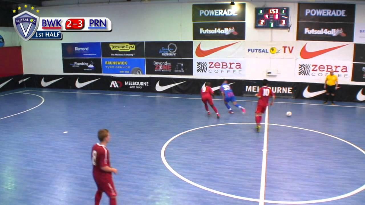 Prahran v Brunswick, 2012/13 Round 21, Futsal Oz: NIKE V-League Premiership