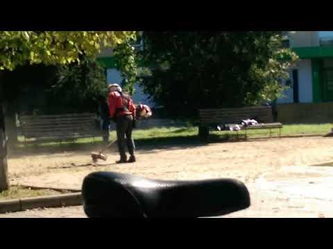 Краснознаменск: генеральная уборка площади перед визитом губернатора Андрей ВОРОБЬЁВА