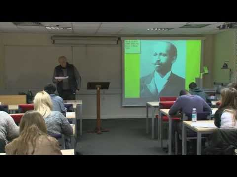 Introduction to United States Sociology (W.E.B. Du Bois): Professor Colin Samson